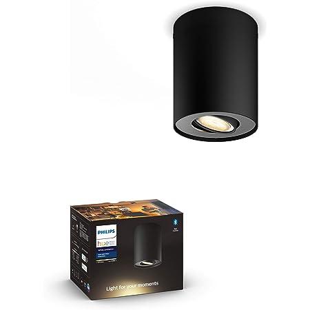 Philips Hue Bluetooth Fugato Smart LED-Strahler GU10 wei/ßes und farbiges Licht Sprachsteuerung m/öglich 5,7 W