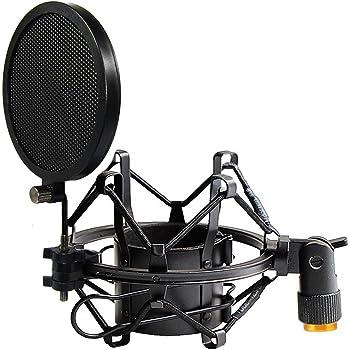 Mikrofon Schwingungsdaempfer Staender 50MM fuer 48MM 54MM Durchmesser G1K4