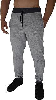 Calça Masculina Moletom Slim MXD Conceito Rajado Mescla Clássico