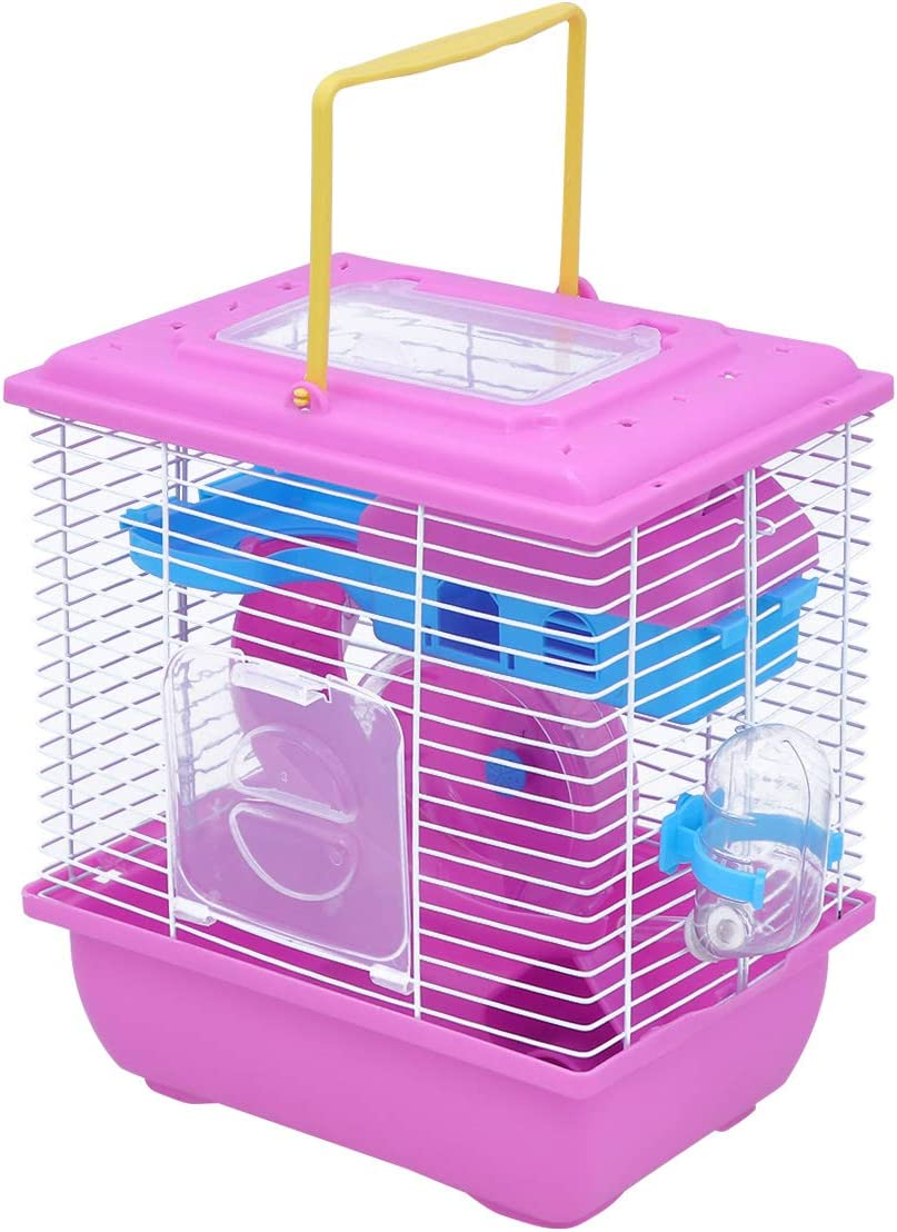 New product!! Nippon regular agency TEHAUX Pet House- Double Layer Cage Hamster House Po Acrylic