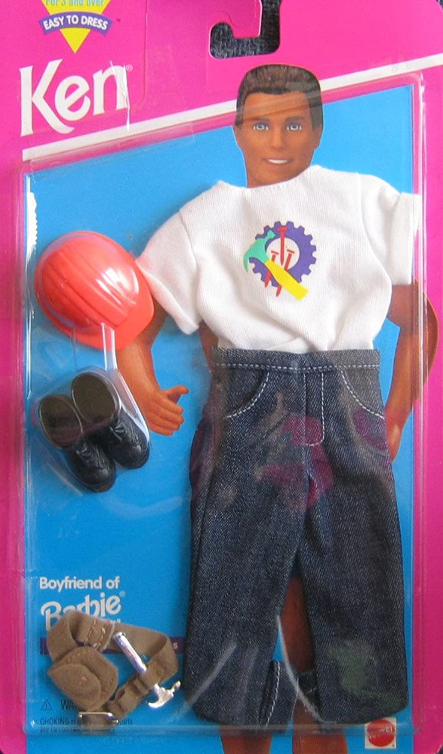 Barbie KEN Carpenter Fashions - Easy To Dress (1995)