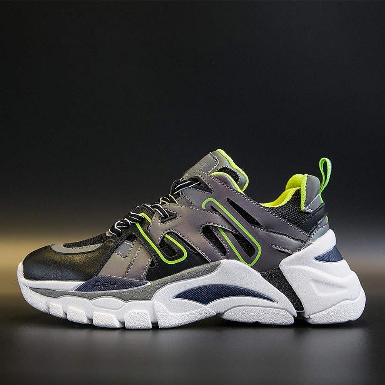 ZHIJINLI ZHIJINLI ZHIJINLI Net -skor med andningsbara gympaskor, fritidsskor, retro sportskor modeatmosfär, 7.5 storLEK  stort urval och snabb leverans