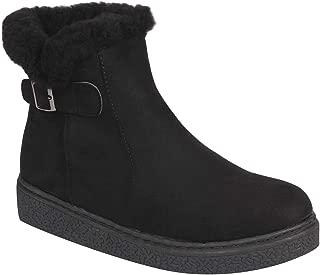 Flat n Heels Womens Black Boots FnH 1710-23-BK