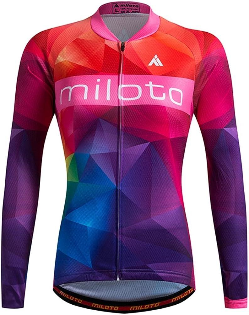 shipfree Uriah Overseas parallel import regular item Women's Cycling Jersey Thermal Fleece Reflecti Long Sleeve