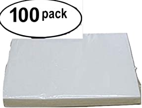 Wafer paper O quality 8.5 x 11 , Pack with 100 sheets ,paper for print and for makes flowers (white, 8 by 11-Inch)