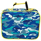 Insulated Durable Lunch Box Sleeve - Reusable Lunch Bag - Securely Cover Your Bento Box, Works with Bentology Bento Box, Bentgo, Kinsho, Yumbox (8'x10'x3') - Camo