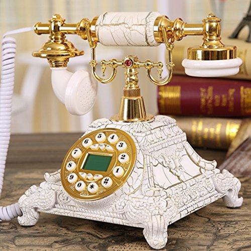 Téléphone Shopping-De style européen Antique Bois Retro Fashion Creative 5501