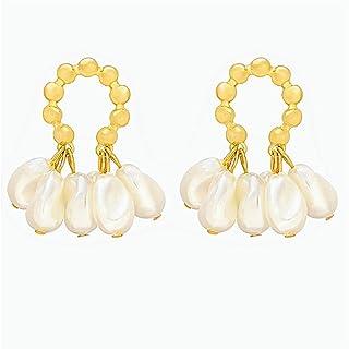 Earrings Pearl Earrings Fashionable Simple All-Match Earrings Women's Birthday Gifts