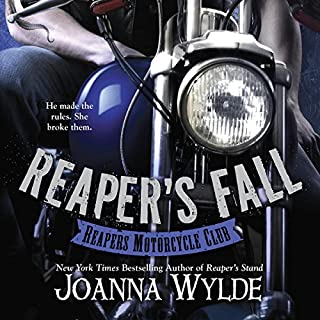 Reaper's Fall     Reapers Motorcycle Club, Book 5              By:                                                                                                                                 Joanna Wylde                               Narrated by:                                                                                                                                 Nelson Hobbs,                                                                                        Saffron Martindale                      Length: 13 hrs and 34 mins     829 ratings     Overall 4.4