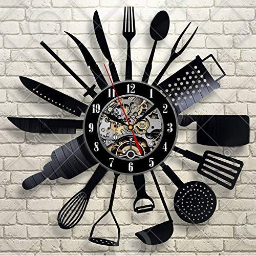 Ysain Neue Top Fashion 12 Mm Blatt Vier Stück Set Kunststoff Relogios De Parede Horloge Wandbild Ebay Wanduhr