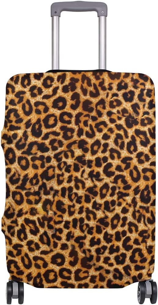 Ainans Leopard Baltimore Mall Year-end gift Prints Printed Luggage Inch 18-32 Suit Cover Fits
