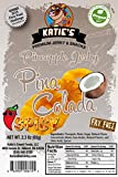 Katie's Spicy Pina Colada Flavored Pineapple Jerky - No Nitrites, MSG or Preservatives, Award Winning (Spicy Pina Colada, 1 Package)