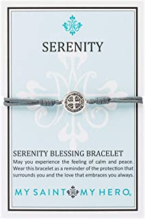 My Saint My Hero Serenity Blessing Bracelet - Silver Medal