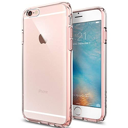reputable site e7589 db692 Iphone 6s Clear Case Rose Gold: Amazon.com