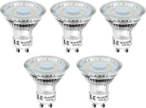 Lighting EVER Bombillas LED GU10, 4W - 50W Halógena, 2700K