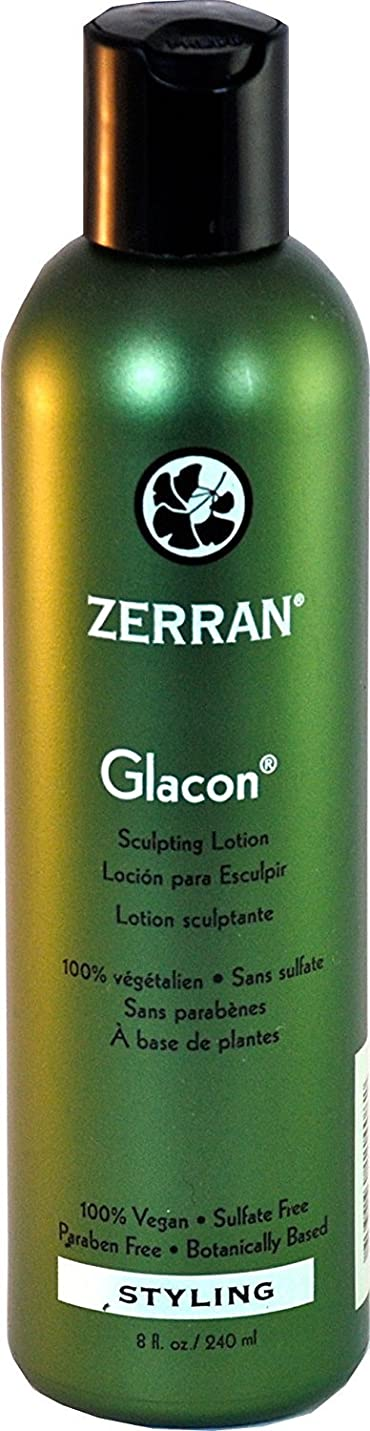 アーサー約束する陰気Zerran Glacon Sculpturing Lotion - 8 oz by Zerran