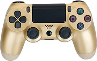 Gold Color Bluetooth Wireless Gamepads Controller for Playstation 4 with USB Cable,PS4 Controller
