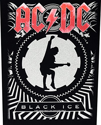 AC/DC Ice Black rückenaufnäher backpatch écusson