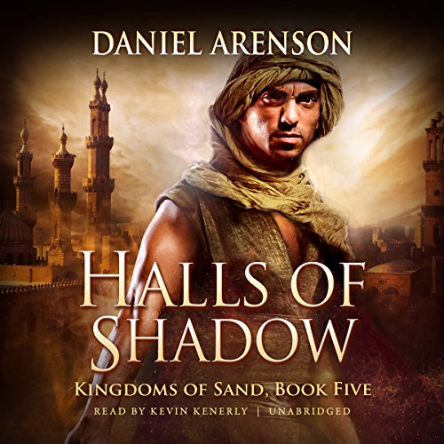 Halls of Shadow audiobook cover art