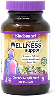 Bluebonnet Nutrition Targeted Choice Wellness Support, Immune Defense Whole Food-Based Formula, Seasonal Support, Soy-Free...