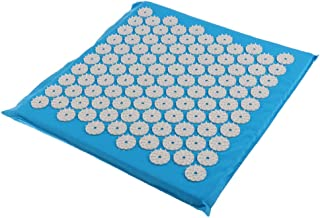 Blesiya Professional Acupressure Mat - Small Travel Size - Used As Body Mat, Seat Cushion Or Rolled as Neck Pillow