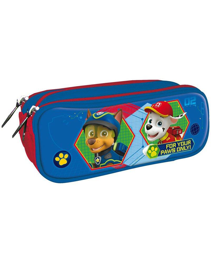 Patrulla Canina Estuche portatodo con Triple Cremallera Bolsillo: Amazon.es: Juguetes y juegos