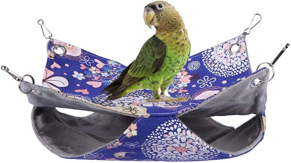 Bird Double Super special price Hammock Warm Nest Bed for Finally resale start Coc Parrot Budgie Parakeet