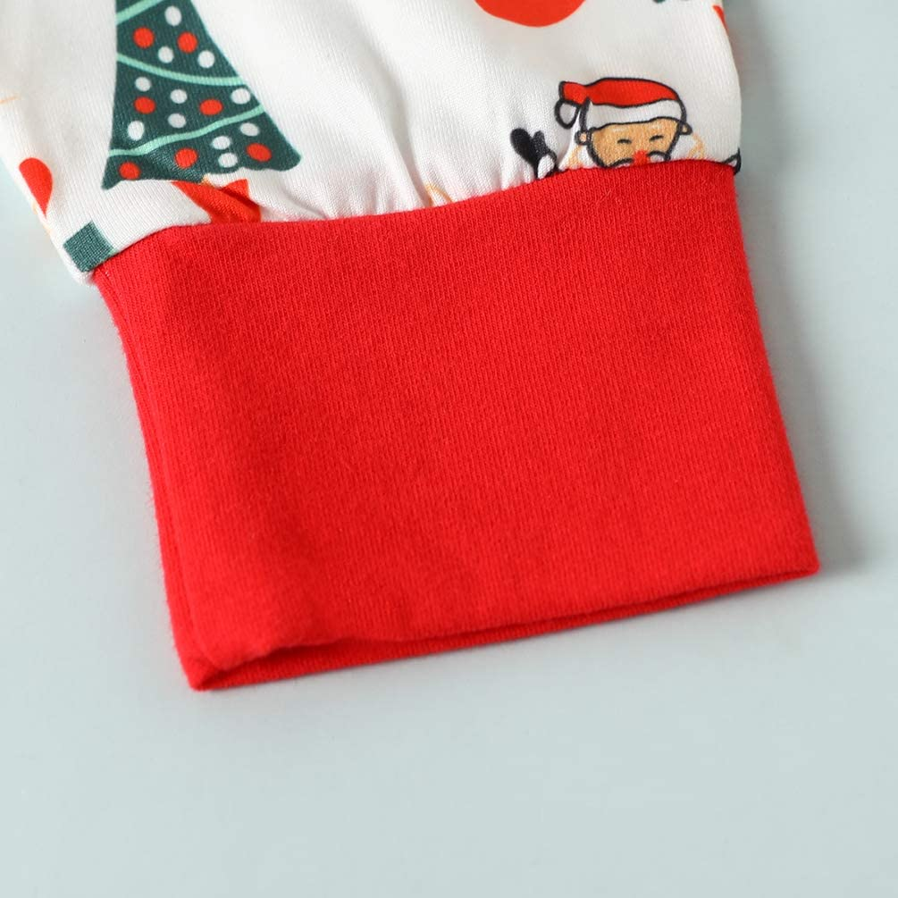 Baby Boys My 1st Christmas Outfit Romper Tops+ Santa Pants+Hat Clothes Set