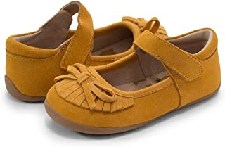 ALLAK Girls Strap School Uniform Dress Shoe Mary Jane Flat