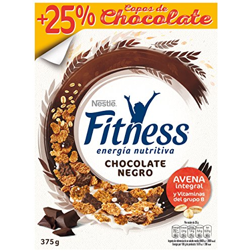 Cereales Nestl? Fitness con chocolate negro - Copos de trigo integral, arroz y...