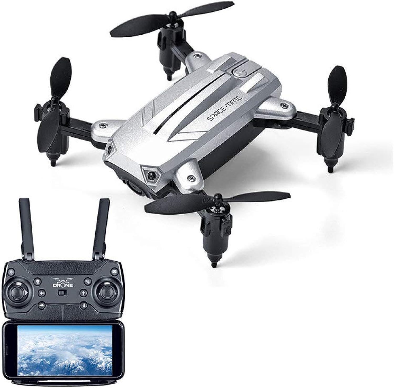 mejor calidad ERKEJI Drone Avión de Mando Plegable Cuatro Ejes de de de teledirigido Mini Plegable neumática Fija avión de Juguete de Altura 1080 P Antena Foto Real -Tiempo de transmisión WiFi FPV VR  precio mas barato