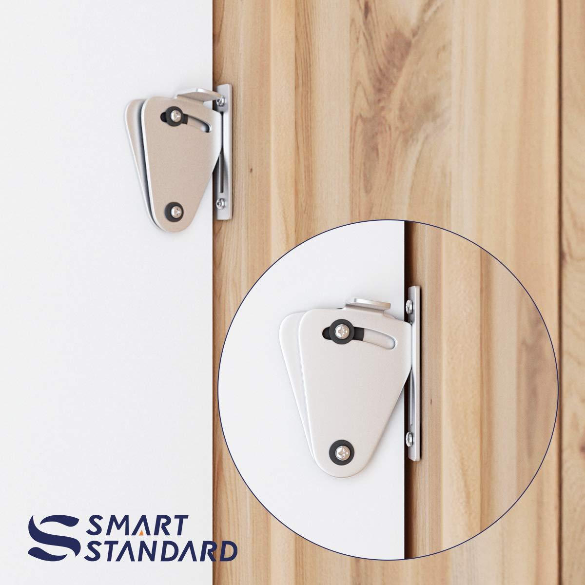 SMARTSTANDARD - Cierre de seguridad para puerta corredera (acero ...