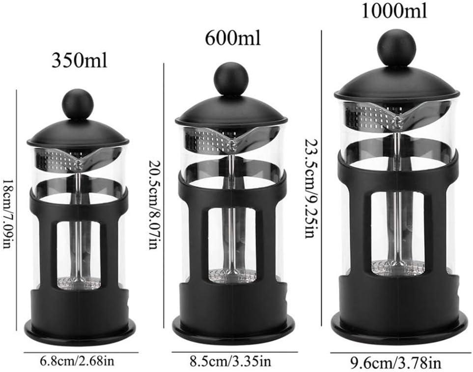 PSTBWYL Coffee Maker,Portable Manual Pot Filter Pot Household Coffee Machine Coffee Pot,1000ML