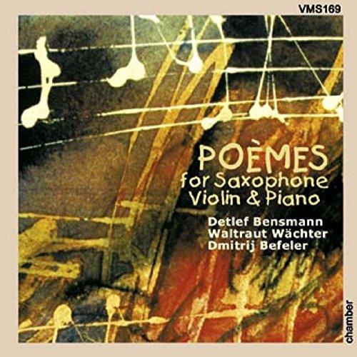Tympanon für Violine, Sopransaxophon und Klavier: No. 3, Wettstreit