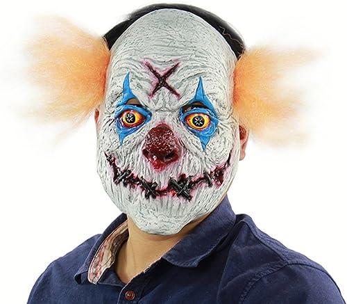 XINKONG Masken Halloween-Horror-menschlicher R ungsplan-Rache-Clown-Latexmaske