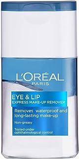 L'Oréal Paris, makeupborttagning, Eye & Lip Make-Up Remover Waterproof, 125 ml