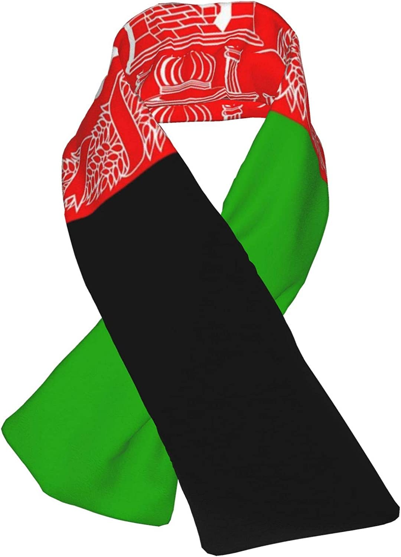 Winter Scarfs Afghanistan Flag Scarves Wraps Neck Warmer Flannel Winter Cross Tie Scarves