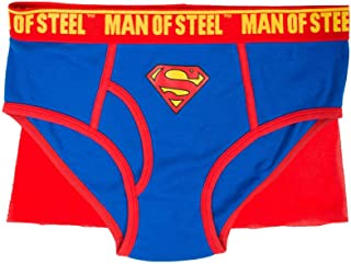 Superman Caped Brief Underwear for Men