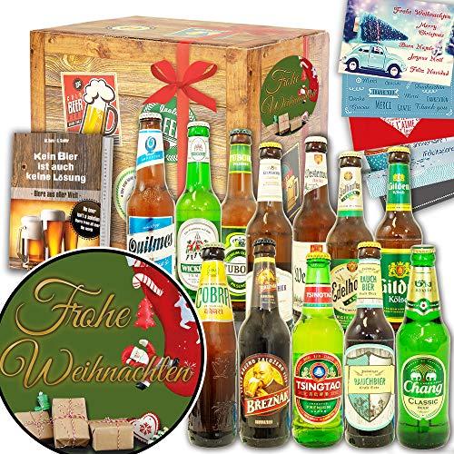 Frohe Weihnachten | 12 Biere Welt & DE | Weihnachten Geschenkideen