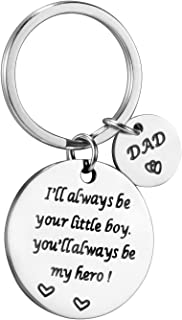 Dad Thank You for Helping Me Build My Life Birthday Gifts Dad Daughter Son Keychain Wedding Gifts