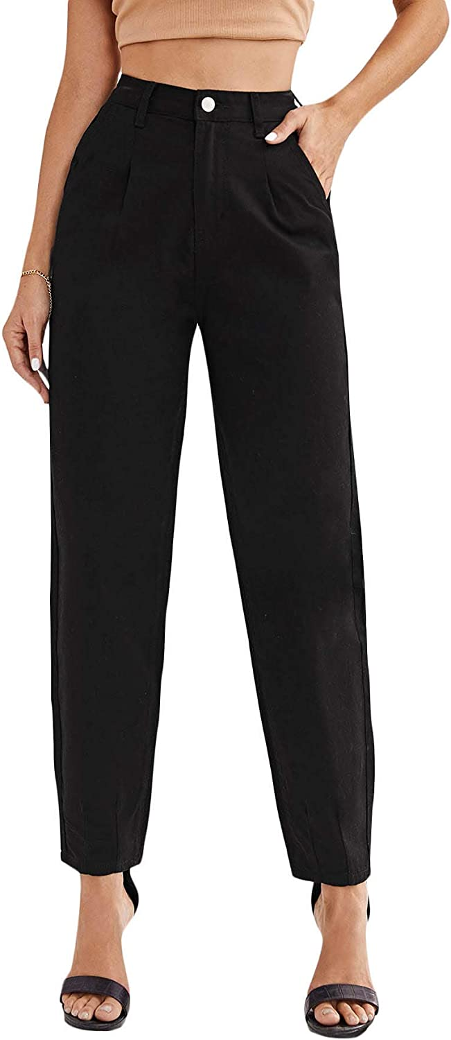 famous SOLY Max 77% OFF HUX Women's Casual Denim Pants High Jeans Waisted