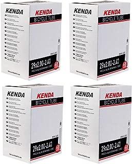Kenda 29er Bicycle Tube 29x2.0/2.4 (48mm Presta R/V) - 4 Pack w Decal/Sticker