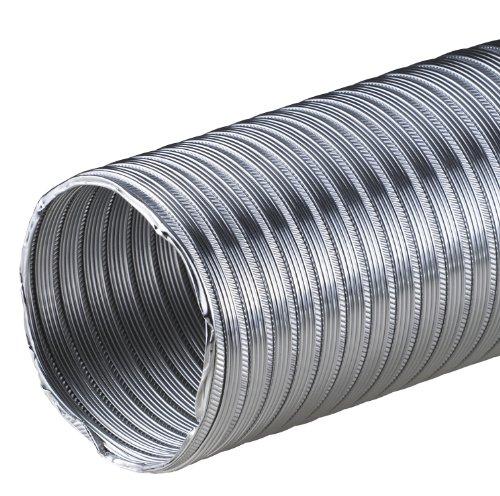 Hochwertiges Aluflex-Rohr 3m Flexrohr Ø 150 mm 150mm Alurohr Flexschlauch Schlauch Aluminium Aluflexrohr flexibles Aluminiumrohr Aluflex Hitzebeständig