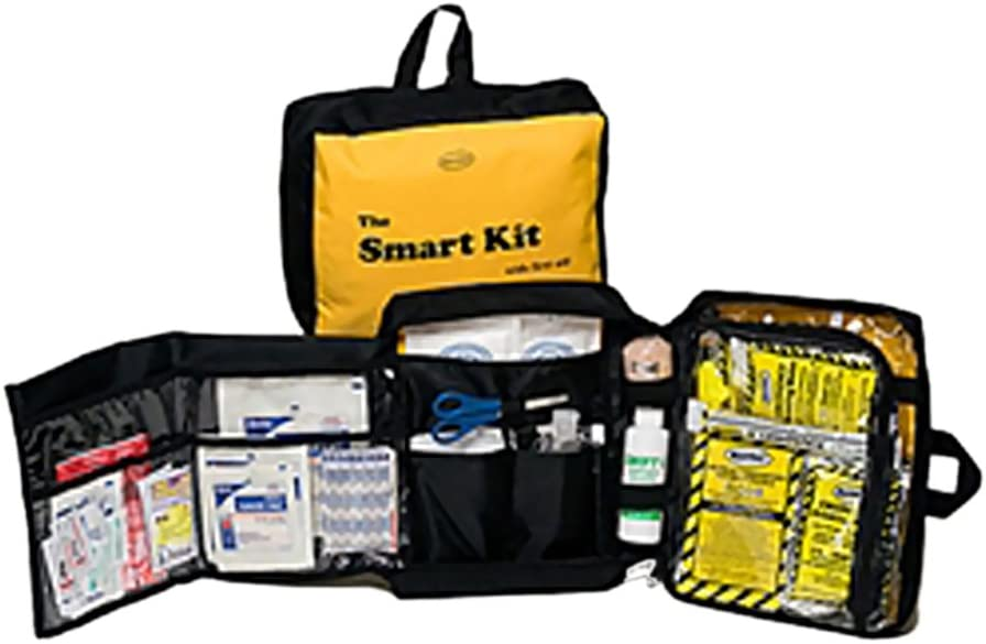 Mayday 100% quality warranty! Emergency Survival Smart Kit with Bargain Pieces Aid 64 First