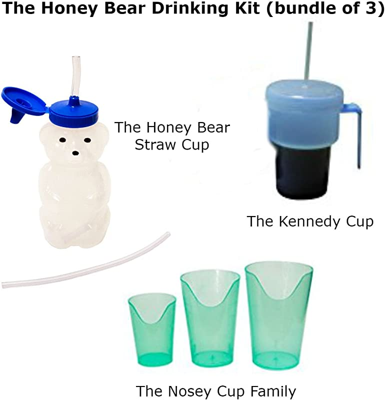 The Honey Bear Drinking Kit Bundle Of 3
