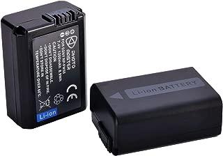 Shuangyu NP-F970/a NP-FW50/Bater/ía Adaptador Zapata de Flash Placa de Montaje Aluminio para Sony NEX5/NEX7/DSC-RX10/A7R A7S a7ii A5000/C55-A5100/A6000/a7sii C/ámara DSLR Rig