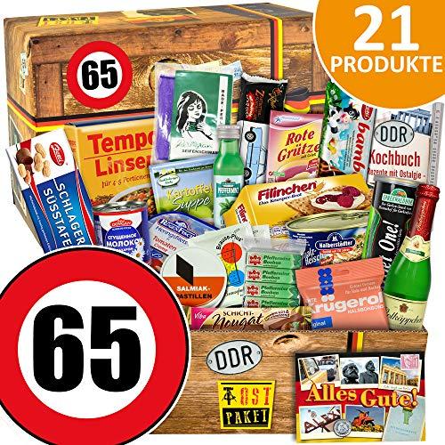 DDR Geschenkbox / Spezialitäten Geschenk / 65 Geburtstag / Geschenkset Vater