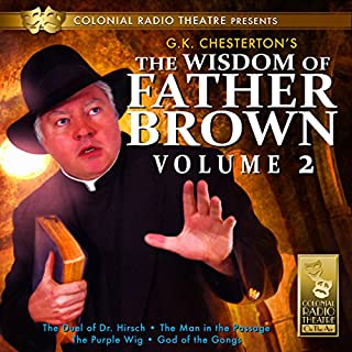 The Wisdom of Father Brown, Volume 2 audiobook cover art