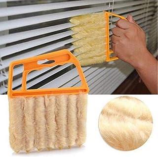 Kloius Dispositivo de aire acondicionado de mano persianas ventana persiana cepillo limpiador herramienta doméstica Cepillos