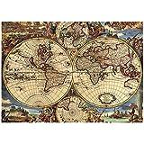 CHengQiSM Rompecabezas para adultos, 1000 piezas, versión actualizada, 29.5 x 19.7 pulgadas, mapa náutico antiguo, juegos educativos para niños adultos